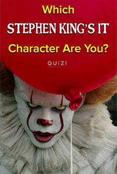 Which character from Stephen King's IT are you?