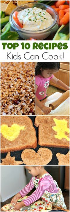 Top 10 Recipes for Kids to Cook - Easy & Delicious!