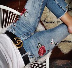 #TrendAlert #JeansBordados