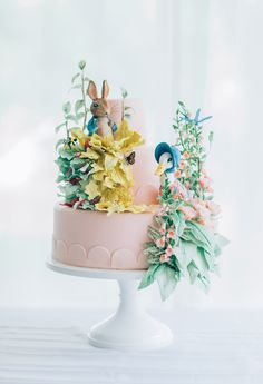 Mischief Maker Cakes I Beatrix Potter Cake I Peter Rabbit Cake I Jemima…