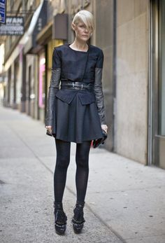Kate Lanphear at Katie Gallagher, NYC | Street Fashion | Street Peeper | Global Street Fashion and Street Style