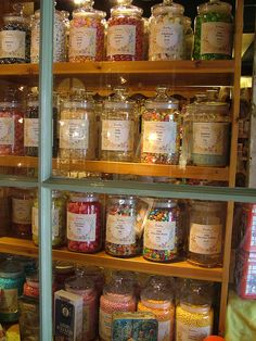 Idea for my pantry organization ~~~glass jars
