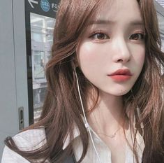 Pin by kitty ly on hairstyles in 2019 ulzzang girl, ulzzang, ulzzang korean girl. Mode Ulzzang, Ulzzang Korean Girl, Cute Korean Girl, Ulzzang Girl Selca, Uzzlang Girl, Girl Face, Korean Beauty, Asian Beauty, Ulzzang Girl Fashion