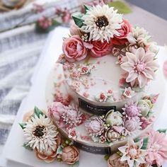 #flowercakeclass#Koreariceflowercake#beanpasteflower
