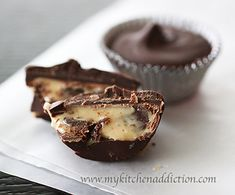 Chocolate Chip Cookie Dough Cups.