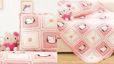 How to Crochet Blanket:Kitty Blanket 3/5
