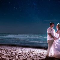 Pamela Landry & Mitchell Boudreau  Realize your dream wedding in your dream destination call us today 1-312-869-4103 or visit Weeeee.net.
