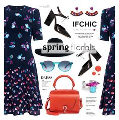 """Spring Dress Code with Ifchic"" by anyasdesigns ❤ liked on Polyvore featuring Carven, Rebecca Taylor, Dee Keller, Etnia Barcelona, Eugenia Kim, Joomi Lim, JINsoon, dress, ifchic and springdresscode"