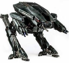 BLOG DOS BRINQUEDOS: RoboCop 2014 ED-209 16-Inch Light-Up Action Figure...