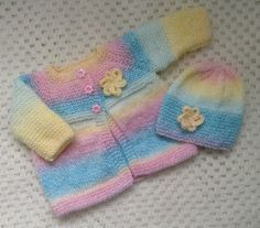 Newborn Baby Cardigan Set