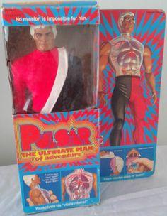 MATTEL: 1976 PULSAR The Ultimate Man of Adventure Action Figure