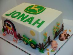 John Deere Birthday By bandcbakes on CakeCentral.com
