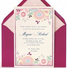 Invitación de boda Fiji