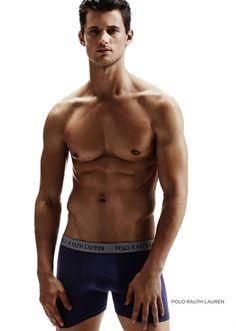 Garrett Neff Models Underwear for El Palacio de Hierro image Garrett Neff Underwear 001