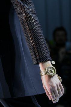 Daria Strokous for Versace S/S 2015