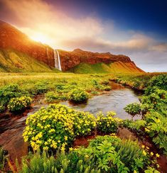 Seljalandsfoss waterfall, Iceland - ©Creative Travel Projects