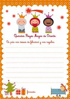 Banco de Imagenes y fotos gratis: Cartas Reyes Magos, parte 2