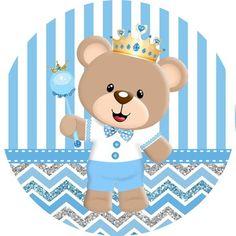 Boys 1st Birthday Cake, Happy Birthday, Imprimibles Gratis Baby Shower, Congratulations Baby Boy, Baby Shower Invitaciones, Baby Prince, Diy Birthday Decorations, Baby Kit, Cute Bears