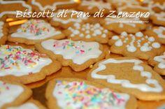 I biscotti di pan di zenzero per Natale. Ricetta con il Bimby ma anche senza