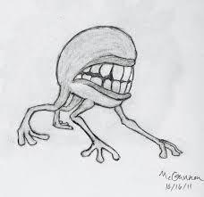 Resultado De Imagen Para Scary Drawings Of Demons Easy With