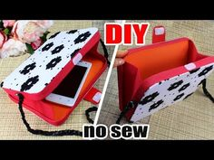 All these 18 DIY Clutch Tutorial - Quick & Easy Ideas are so exciting and fun that you really want to try them anytime soon and you can also not ressit to share these ideas and concepts with others. Diy Bags Tutorial, Handbag Tutorial, Diy Crafts How To Make, Easy Diy Crafts, Diy Clutch, Clutch Wallet, Diy Purse Organizer, Pochette Diy, Best Leather Wallet