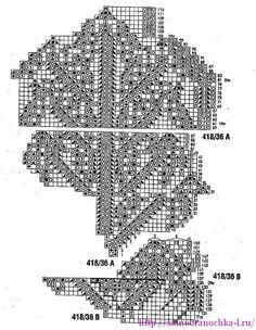 Коллекция салфеток, связанных спицами   САМОБРАНОЧКА рукодельницам, мастерицам