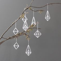 ornaments for a modern Christmas