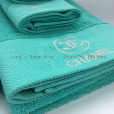 Low Stock! High Quality Chanel 100% Cotton 3 PC Set