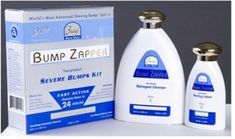 Bump Zapper Severe Bump Kit by Bump Zapper. $19.99. Was developed through a collaboration with our renowned technical partners in the United States, Italy, France and Switzerland. Part of the World's Most Advanced Shaving/Razor Bumps Treatment System. Kit uses a combination of natural products to clean, moisturize and heal your skin. Will sooth facial bumps, bumps due to ingrown hair, shaved neck bumps, shaved head bumps and bikini area bumps. Bump Zapper Severe Bumps ...