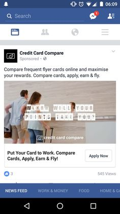 Your Cards, How To Apply, Ads, Facebook