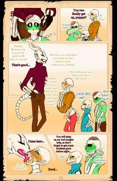 Page 2 Read Alphatale BittyBone AU from the story Cómics Undertale Traducciones Yaoi -FINALIZADO by with reads. Undertale Ships, Undertale Fanart, Undertale Au, Frisk, Underfell Comic, Sans Art, Undertale Pictures, Feeling Alone, In My Feelings