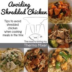 Avoiding shredded chicken breast in the Thermomix - The Road to Loving My Thermo Mixer Wrap Recipes, Paleo Recipes, Gourmet Recipes, Cooking Recipes, Philly Food, Thermomix Desserts, Shredded Chicken, How To Cook Chicken, Food Hacks