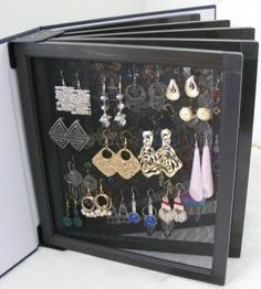 Jewelry Organizer Portable by jingls on Etsy, $29.95