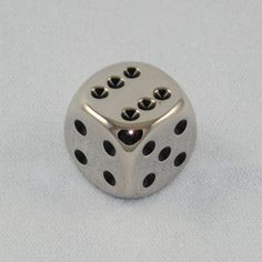 Dice | 16mm Six Sided Chrome Dice - Game Master Dice
