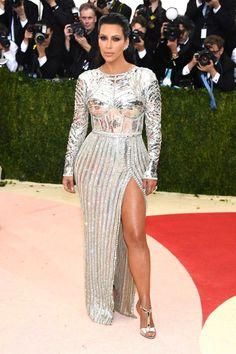 Met Gala 2016:  Kim Kardashian in Balmain