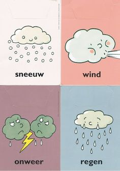 Symbolen, is ook een deel van ons waardepatroon en staat het verst van onze waarden. Weather Seasons, Weather And Climate, Dutch Language, Home Management Binder, Paper Crafts For Kids, Toddler Crafts, In Kindergarten, Netherlands, Calendar