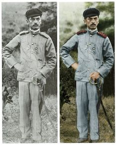 Manuel L. Quezon in the uniform of a Major in the Philippine Army American Press, American War, Philippine Army, Filipino Fashion, Communication Development, Philippines Culture, Filipino Culture, Filipino Tattoos, Colorized Photos