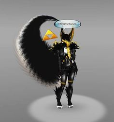 IMVU ~:Furry~♥~ Animals:~ ♥ :) Bad ass yellow animal <3 Female gender. Please click picture for full size :)