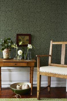 lovely wallpaper | karlslund, brokadfågel boråstapeter