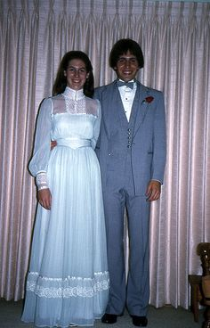 1981 prom~ Oh how the times have changed. haha 1981 prom~ Oh how the times have changed. Grey Prom Dress, Sexy Party Dress, Prom Dresses Blue, White Wedding Dresses, Vintage Party Dresses, Vintage Prom, Prom Photos, Prom Pics, Beautiful Bridal Dresses