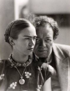 Diego Rivera and Frida Kalho