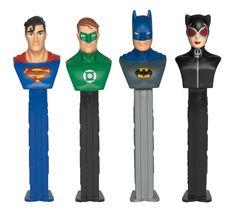 DC Comics Superhero Pez Dispenser, 84012