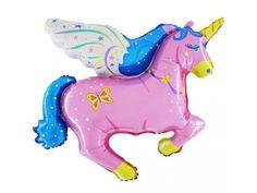 Einhorn pink Superballon:Folienballon Einhorn in wunderschöner pinker Ausfühung. Sie können diesen Ballon auch selbst mit Helium oder Luft befüllen. Ein herrlich schöner bunter Figurenballon für Ihre Party! Bestellen S.. Girl Birthday, Birthday Parties, Unicorn Balloon, Foil Balloons, Magical Girl, Bunt, Party, Dinosaur Stuffed Animal, Animals