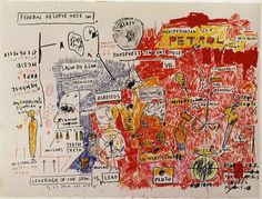 "Jean-Michel Basquiat ""Liberty"" 1983"