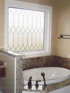 bathroom window: instead of ugly valence?