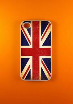 Iphone 4 Case - Vintage UK Iphone Case, Iphone 4s Case. $14.99, via Etsy.