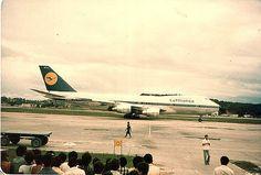 https://flic.kr/p/b5xqH | Primeiro Jumbo nos Guararapes Abr 1980 Lufthansa_6 | Recife. Abril de 1980.  Festa para os spotters.. Primeiro B 747 Jumbo a pousar no Recife. Lufthansa.