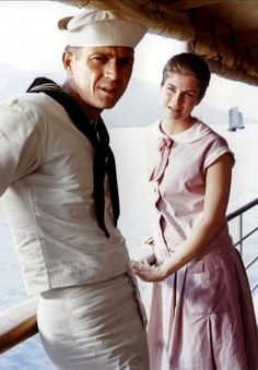 Steve McQueen & Candice Bergen in The Sand Pebbles, 1966