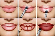 ¿Conoces la técnica del contouring? #labios #maquillaje #contouring