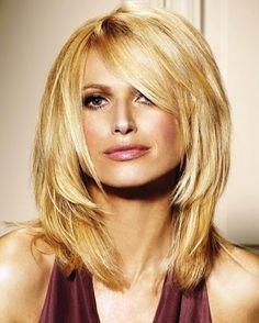 Medium 40ish Hairstyles   LONG HAIRSTYLES